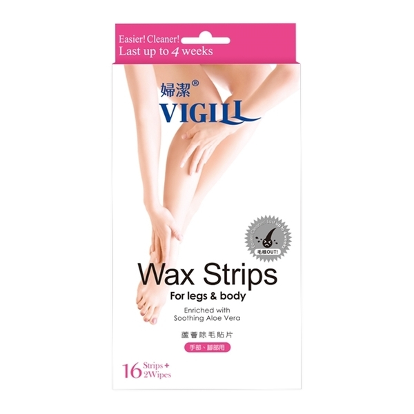 (VIGILL)Bidet Aloe waxing patches (hands or feet)