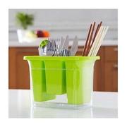 (pleasureism)Kitchenware Kitchen ‧ ‧ ‧ dust cutlery storage box drain and ‧ ‧ simple chopsticks spoon · fork · [Braden ? box. Ism]