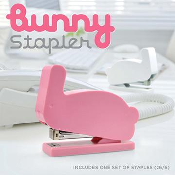(Mustard)Mustard stapler | pink rabbit