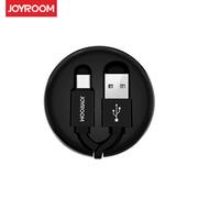 (JOYROOM) JOYROOM S-M346 Micro USB TPE สายเคเบิลถ่ายโอนข้อมูลแบบ Telescopic