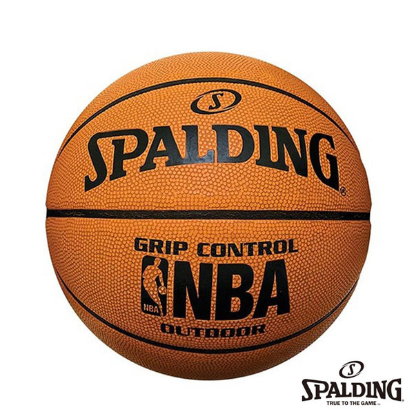 [TAITRA] SPALDING NBA Grip Control Professional Rubber Basketball No. 7 (Orange)