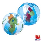 [TAITRA] L&R - Bestway ลูกบอลเป่าลม 20 นิ้ว - รูปม้าน้ํา / นกแก้ว (ออกสินค้าแบบสุ่ม)