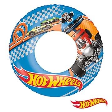 ห่วงยางเป่าลม 22 นิ้ว ลาย Hot Wheels