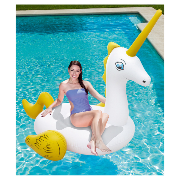 [BESTWAY] adult giant inflatable unicorn riding / horse