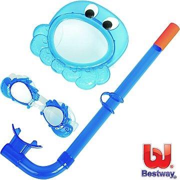 [TAITRA]  【BESTWAY】เซ็ตเล่นน้ำสุดคุ้มสำหรับเด็กเล็ก (ปลาหมึกสีฟ้า)