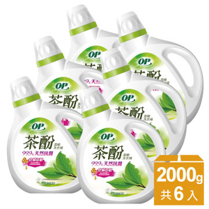 [TAITRA] OP น้ำยา ซัก ผ้า สาร สะ กัด จาก ใบ ชา สูตร เข้มข้น ขจัด เชื้อโรค ไม่ แพ้ ง่าย (6 ชิ้น / กล่อง)