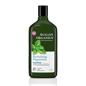 (avalon)AVALON ORGANICS strong peppermint essential oil shampoo 11oz / 325ml