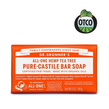(Dr.Bronner\'s)Dr. Bronner's American Dr. Brown Organic Tea Tree Cleansing Soap