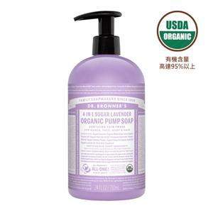 (Dr.Bronner\'s)Dr. Bronner 's American Dr. Brown Organic Lavender Shikakai Shower Gel 24oz