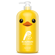 (快潔適)[Fast] little yellow duck appropriate antibacterial cleaning bath milk -1000ml