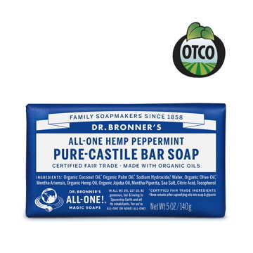 (Dr.Bronner\'s)Dr. Bronner's American Dr. Brown Organic Mint Cleansing Soap