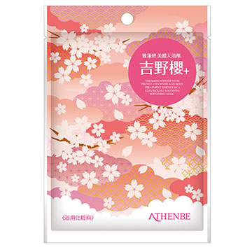(AgAINST)[Appropriate] fast Jie Lin Ya Bi Body bath salts - Yoshino cherry 40g