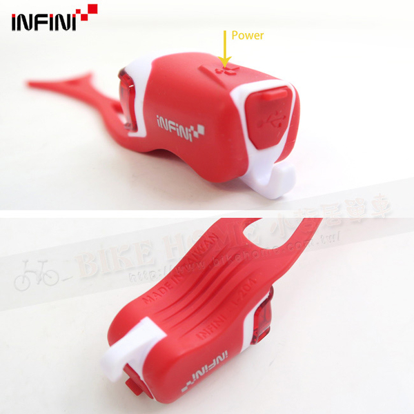 (INFINI)[INFINI] ORCA I-204R rear red LED lights whale 3 mode warning lights / in Taiwan - Red