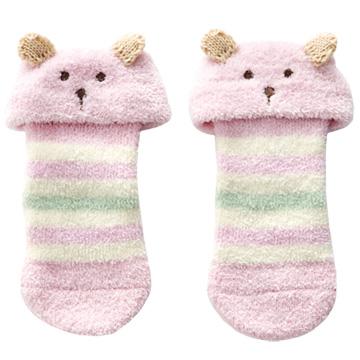 [Chico] ความนุ่มสบายสุด ๆ ในถุงเท้าอุ่นหมีหนึ่งคู่