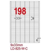 [TAITRA] LONGDER Tri-Use Printing Computer Label LD-825-W-C/198 Grids