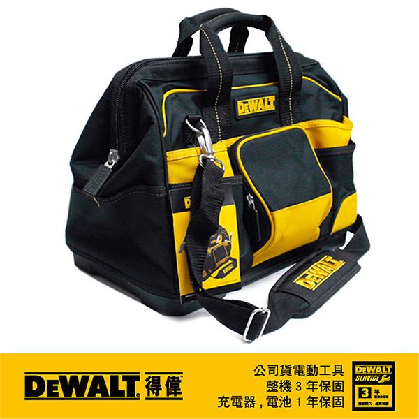 "(DEWALT)The United States Wei Wei DEWALT 16 ""large opening tool bag DWST74727-8"
