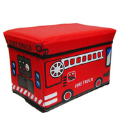 Japanese cartoon car incorporating chair (large) (red)