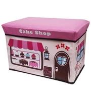 [TAITRA] Cartoon Style Easy Storage Stool (Sweaty Cake)
