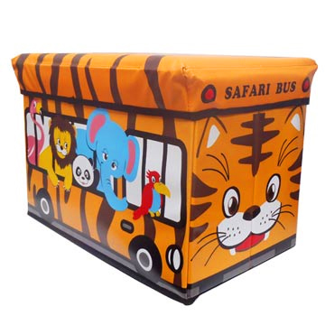 Cartoon incorporating chair (animals Bus)