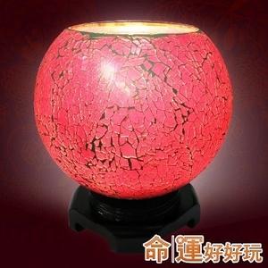 [TAITRA] l Superlucky】 Auspicious amulet Powerful pink glass peach
