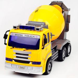 [TAITRA]  【Work Truck】รถผสมปูนของเล่น มีแสงสีเสียง
