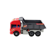 Bao Le Star 6872 sound and light simulation inertial gravel trucks (medium) (Ultra will run) (IC Music / Tang / story) (Authorization)