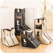Fashion Korean version of the travel boots hand carry pouch bag visual dust boot box