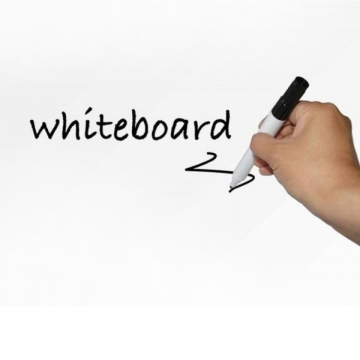 [TAITRA] 【DZ301B】Whiteboard Sheet 45CMx200CM Free Water Pen Whiteboard Wall Sticker Graffiti Teaching and Training Office Soft Whiteboard