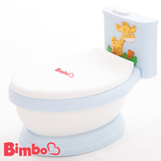 [TAITRA] 【BIMBO】 Patented Children's Music Toilet  Made in Taiwan - Light Blue