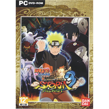 Naruto Shippuden Ultimate Storm 3 PC English version (with Chinese manual)