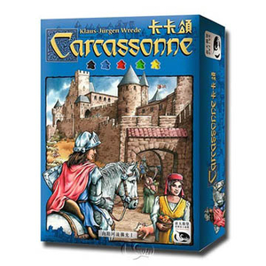 [Neuschwanstein table games] Carcassonne Carcassonne- Traditional Chinese version