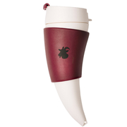 Goat Mug  แก้วกาแฟพกพา ทรงเขาเเพะ - สีไวน์แดง