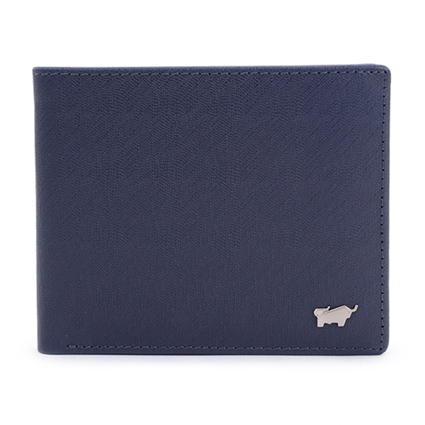 (Braun Buffel)【BRAUN BUFFEL】 HOMME-M Series 5-card pane wallet - dark blue BF306-316-MAR