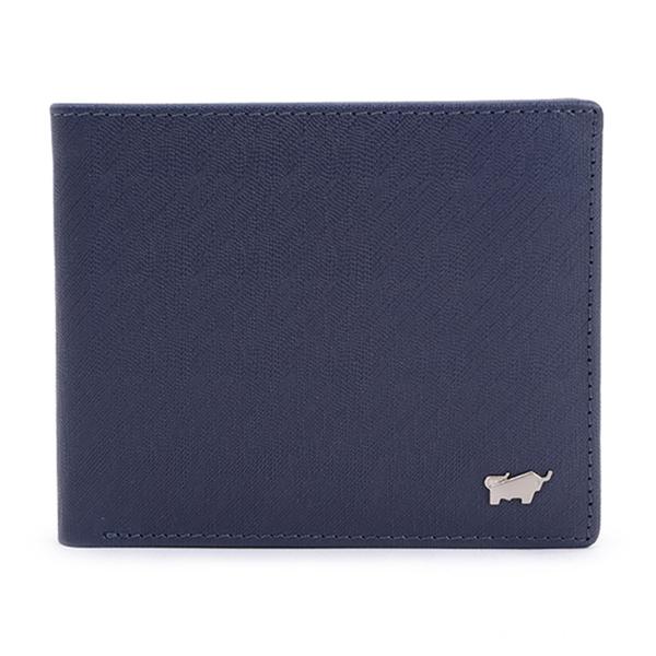 (Braun Buffel)【BRAUN BUFFEL】 HOMME-M Series 4-card change wallet - dark blue BF306-315-MAR