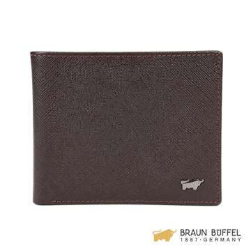 (BRAUN BUFFEL)【BRAUN BUFFEL】 Lofenofine C Series 4 Card Wallet Bag Wallet - Coffee BF307-315-GAU