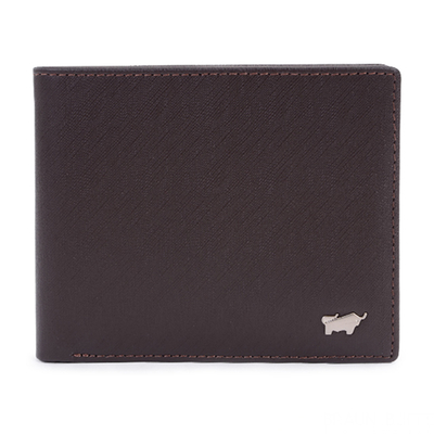 (Braun Buffel)【BRAUN BUFFEL】 HOMME-M Series 4 Card Mineral Wallet - Coffee BF306-315-ENY