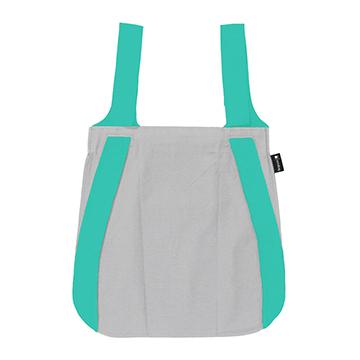 (Notabag) กระเป๋าอเนกประสงค์ - สีเทาและมิ้นต์