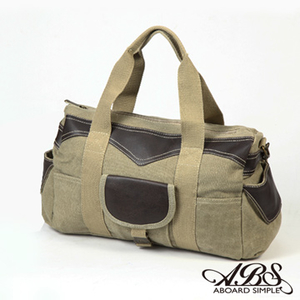 [TAITRA] ABS Street Popular Shoulder Bag Fashion Washable Fabric Material (Brown) 1172