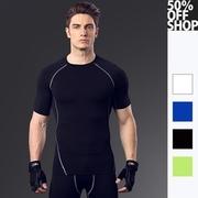 เสื้อยืดแขนสั้นออกกำลังกายสำหรับผู้ชาย