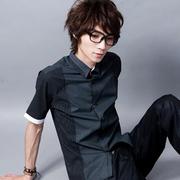 [FATAN] แฟชั่นเกาหลีสไตล์บาร์ผูกสุภาพบุรุษ & # 32441 ;! -3 เสื้อเย็บสี