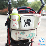 (QBabe)【QBabe】 600D large capacity baby car with hanging bag (small meow)