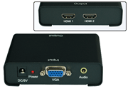[TAITRA] 【PCT】1-In-2-Out VGA to HDMI Splitter (VHC102)
