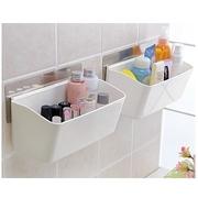 [TAITRA] Non Trace Wall-Adhesive Reusable/Removable Bathroom Storage Organizer Shelf