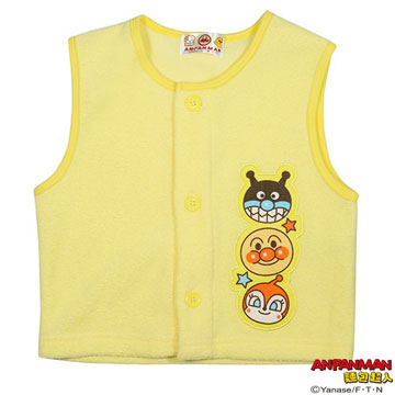 Anpanman vest yellow