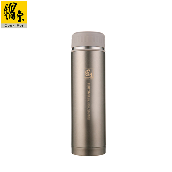 [TAITRA] COOKPOWER - Super Vacuum Thermos Flask 500CC (Champagne Gold) SVC-5090C