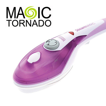 (Magic tornado)Magic tornado black tornado cyclone mine hands multifunction steamer