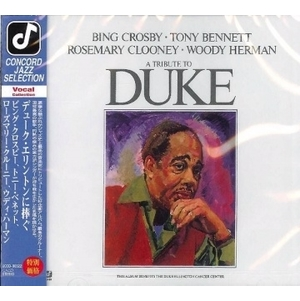 Bing Crosby et / Duke Ellington tribute album A Tribute To Duke CD