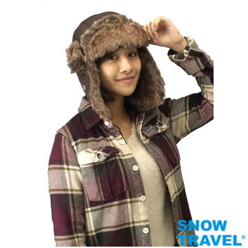 (SNOW TRAVEL)[SNOW TRAVEL] cover the ears warm polar cap AR-55 cold of minus 20 degrees (optional 1)