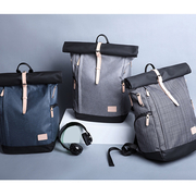 (leaper)【Leaper】 KAKA personalized fashion nylon coating waterproof backpack a total of 3 colors