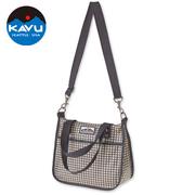 (KAVU)Seattle KAVU Pascale Purse casual messenger bag Houndstooth # 9004